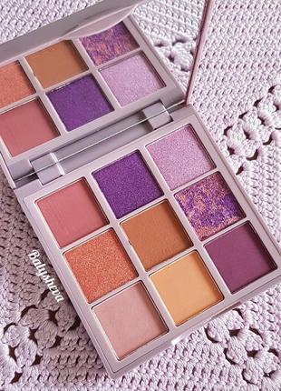Huda beauty pastels lilac палетка теней новая оригинал