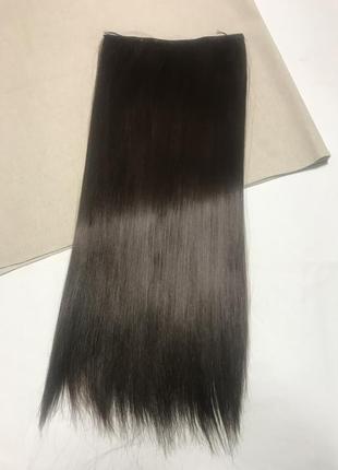 Треси , волосся на заколках{ штучне2 фото