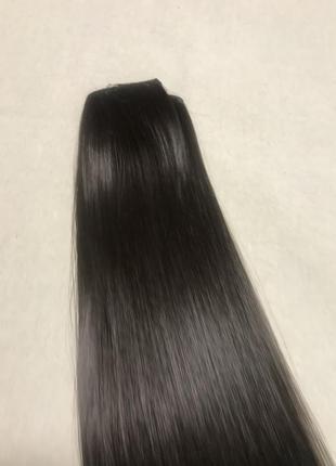 Треси , волосся на заколках{ штучне3 фото