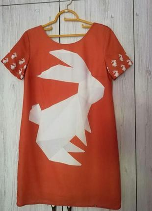 Эффектное платье waggon paris