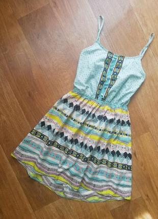 Стильный сарафан, плаття, платье, сукня