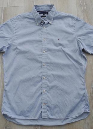 Рубашка tommy hilfiger р. l ( новое )