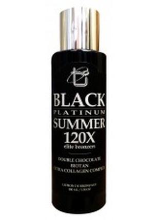 Крем для солярия black summer 120x с двойным шоколадом