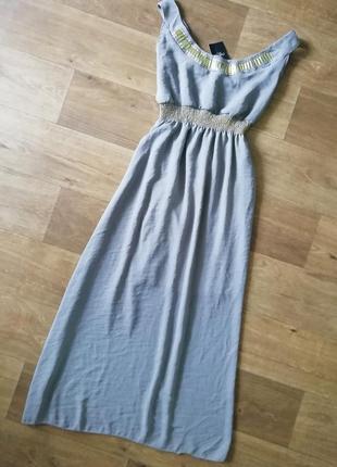Макси сарафан в греческом стиле, платье в пол, сукня, плаття длинное