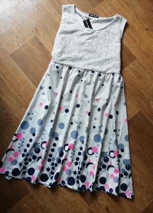 Гипюровое платье, сукня, сарафан плаття
