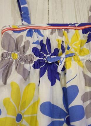Платье сарафан из 100% хлопка, 7-8 лет4 фото