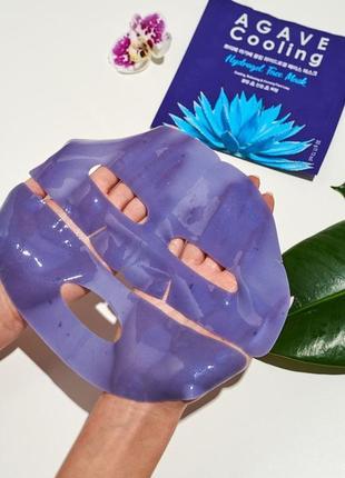 Гидрогелевая маска с экстрактом агавы petitfee agave cooling hydrogel face mask