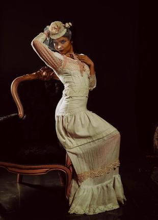 Винтажное платье для фотосессии