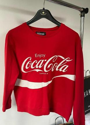 Світшот coca cola