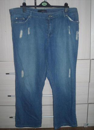 Рванные джинсы большой размер
