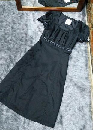 Платье а силуэта из коттона/хлопка esprit