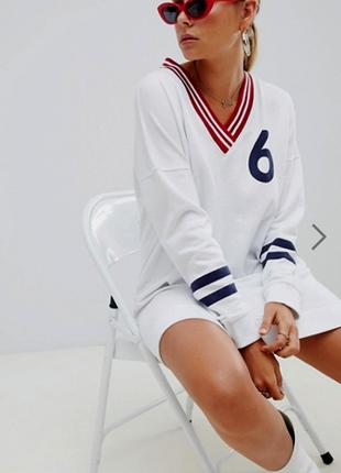 Спортивное платье оверсайз missguided (р.р.s,m,l)