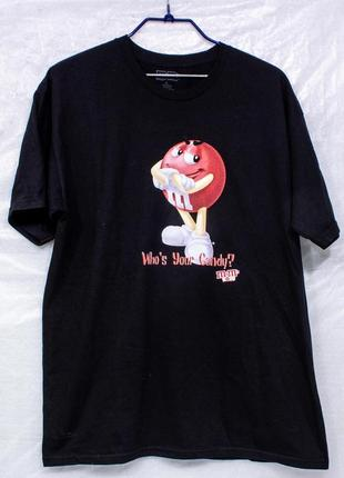M&m  р l футболка мужская  состояние отличное