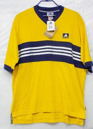 Adidas vintage  размер l футболка мужская состояние новая с бирками