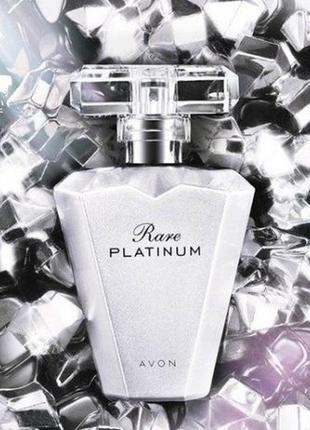 Женская парфюмированная вода rare platinum 50 мл