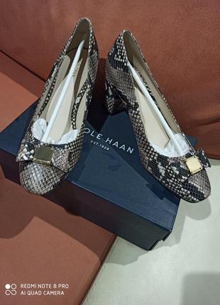 Cole haan премиум бренд кожа элитные туфли