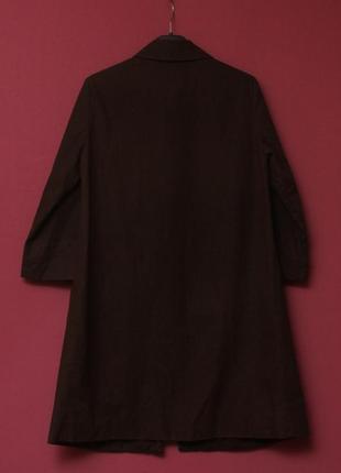 Cos 34 s-m пальто из хлопка и полиуретана.