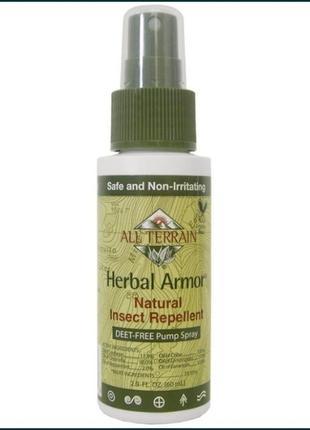 All terrain, herbal armor, средство, отпугивающее насекомых,