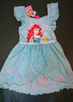 """Платье matalan """"disney princess"""" на 2-3 г новое"""