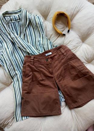 Трендовые шорты в стиле сафари