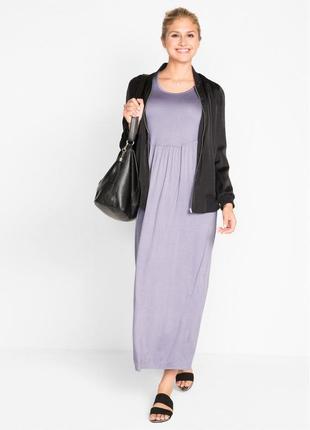 Шикарное, трикотажное платье bonprix для пышненьких модниц.