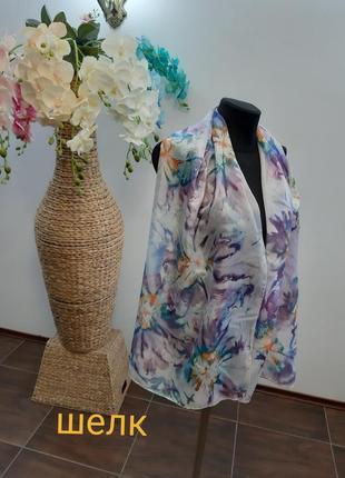 Новый шарф италия шелк