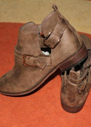 Ботинки демисезонные, ботильоны fabulous footwear by george 38 размера