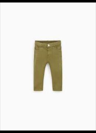 Фирменные джинсы, скинни с твила