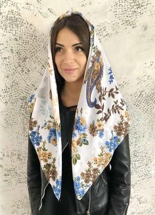 """Платок шарф хлопковый турецкий """"лейла"""" 329011"""