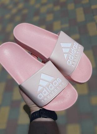 Шлепанцы женские adidas   🌶