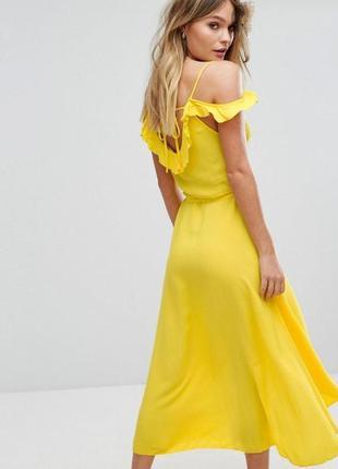 Яркое лёгкое платье-сарафан new look