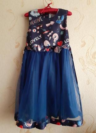 Итальянское крутое платье на девочку to be too+бомбер