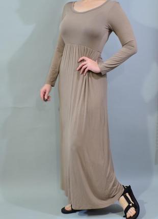 4305\90 тонкое трикотажное платье feeling m