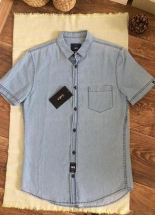 Рубашка короткий рукав zara