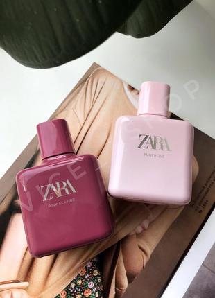 Zara tuberose pink flambe духи парфюмерия туалетная вода оригинал испания