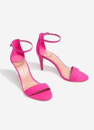 Розові босоніжки