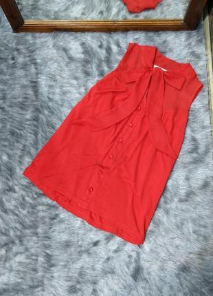 Топ блуза кофточка с бантом на шее river island