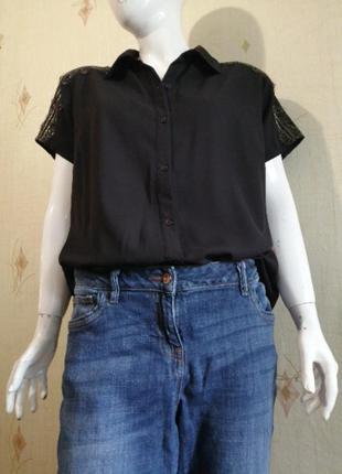 Джинсы +блуза(большой размер 👍)