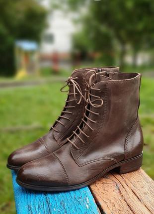 Ботинки roberto santi 38р.