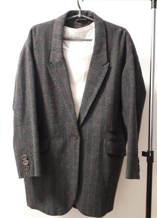 Супер классное стильное пальто пиджак оверсайз