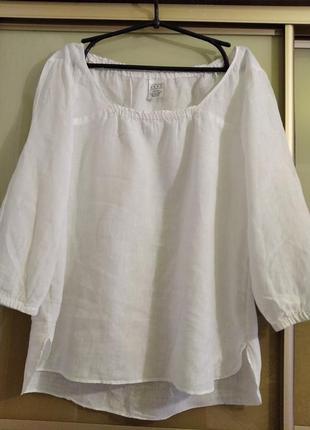 Блуза 💯 лен новая