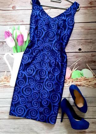 Сильное эффектное платье футляр