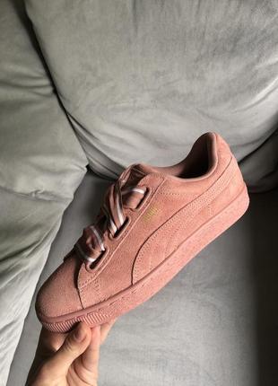 Распродажа! новые кожаные замшевые кеды puma (оригинал), adidas, nike