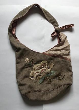 Сумка accessories в стиле бохо мешок