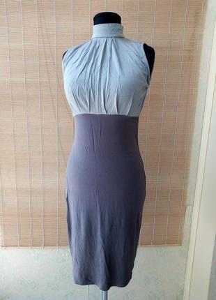 Вискозное платье чехол