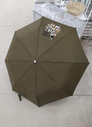 Зонт ,,love cats,, женский зонт.
