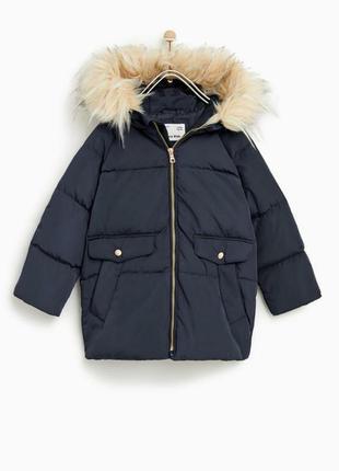 Пуховая курточка zara