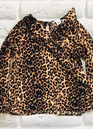 Primark стильная блузка на девочку 6-7 лет