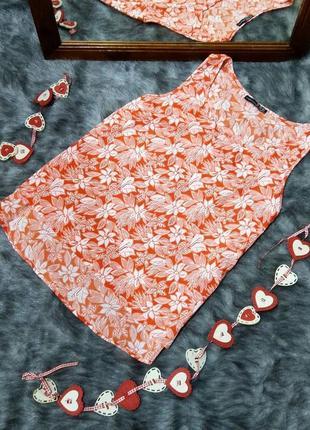 Блуза кофточка топ в трендовый цветочный принт atmosphere