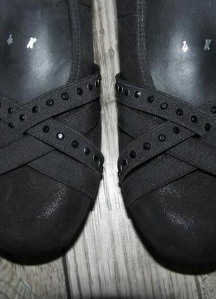 Кожаные туфли rebecca von lengfeld р. 37-23,5см2 фото